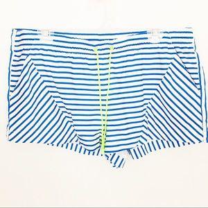 J CREW | Nautical Stripe Board Shorts Swim Trunks